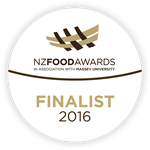 New Zealand Food Awards Finalist!